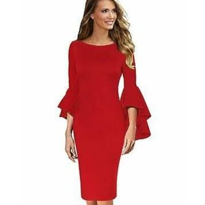 Dresses & Skirts - Nwt Red Dress size Large